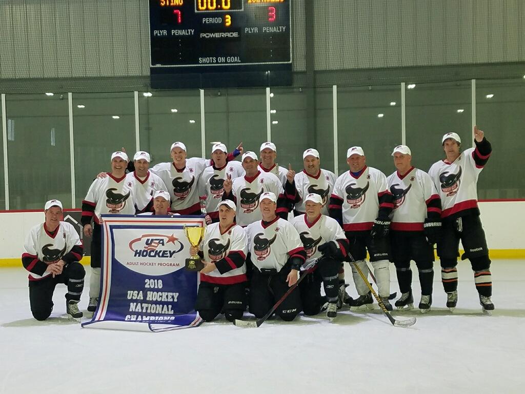 2018 Michigan Sting 50 Plus National Champions