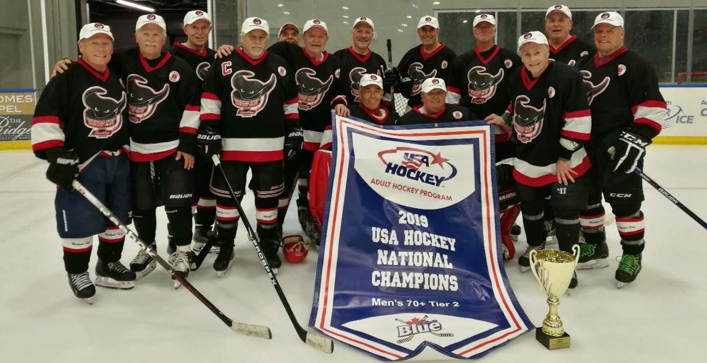 Michigan Sting 70 Plus 2019 USA Hockey National Champions